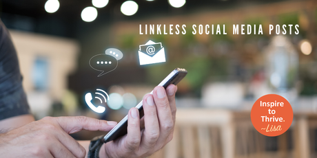 Do Linkless Social Media Posts Create More Engagement?