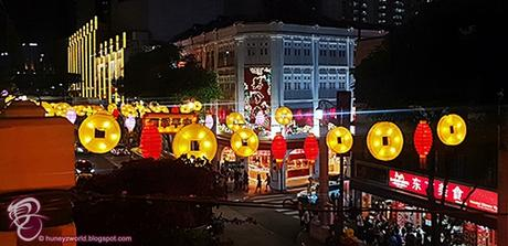 Enjoying The Festive Vibes With Hubby At Chinatown