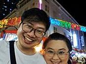 Enjoying Festive Vibes With Hubby Chinatown