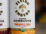 Review Flying Embers Black Cherry Pineapple Chili Hard Kombucha
