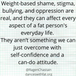 Stop Suggesting Body Positivity When Fat People Ask For Equality