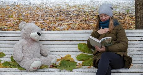 Image: Girl Reading on a Bench, by Luidmila Kot on Pixabay