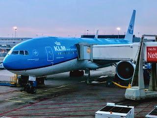 Flying High... KLM Royal Dutch Airlines!