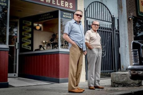 The Irishman: Joe Pesci's Tan Road Trip Sports Coat