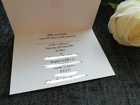 A Budget Wedding - The Invitations