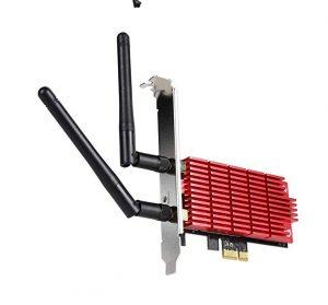 Rosewill WiFi PCI-E Network Card, 802.11AC Dual Band AC1300 PCI Express Network Adapter