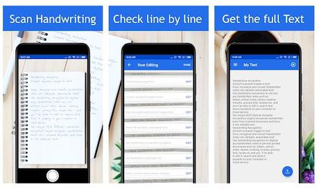 Best handwriting to text app Android/ iPhone