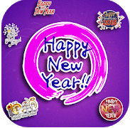 best happy new year whatsapp sticker android 2019