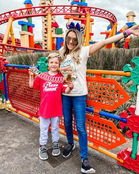 toy story outfits at Toy Story Land in Disney World
