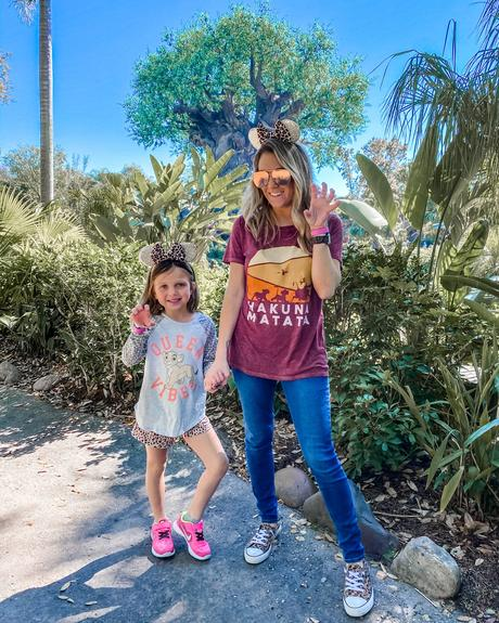 matching Disney World outfits for Animal Kingdom
