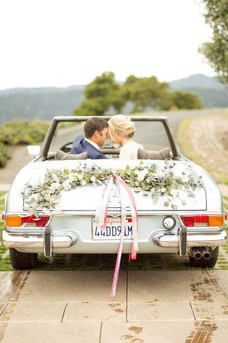 wedding exit photo ideas car with tape mikelarson