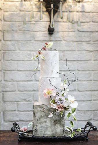 simple elegant chic wedding cakessquare cake cupcakesandcounting