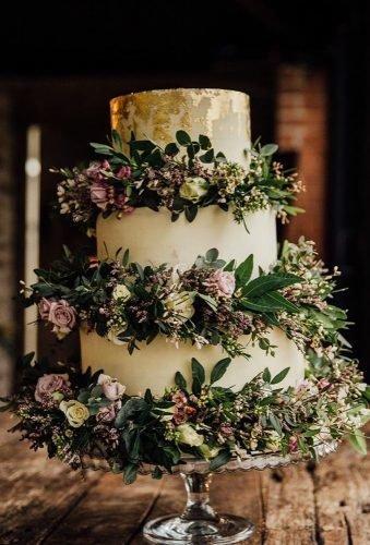 simple elegant chic wedding cakes boho wedding cake redonblondephotography