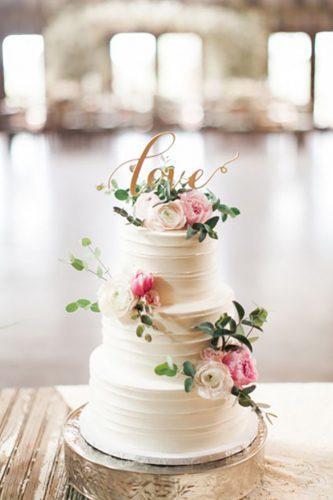 chic wedding cakes 3