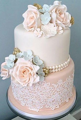 simple elegant chic wedding cakes vintage cake with flowers facsantos