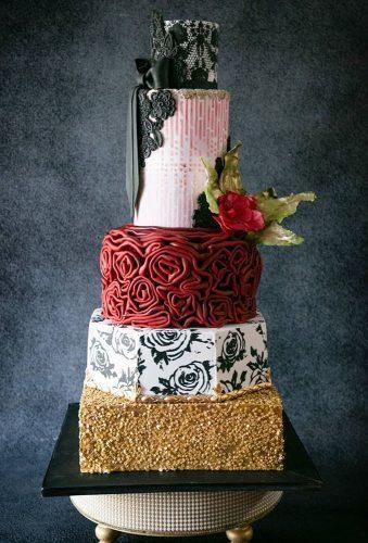 simple elegant chic wedding cakes modern wedding cake kaustubh293