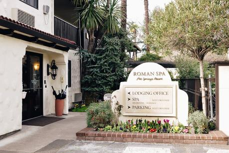 Entrance to Roman Spa Hot Springs Resort