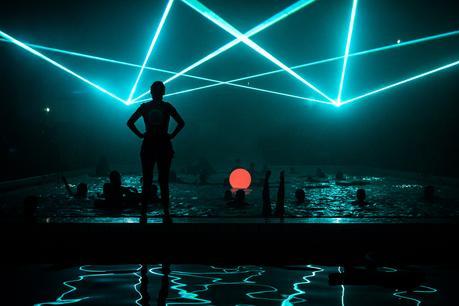 SØS Gunver Ryberg x Swimming pool laser techno