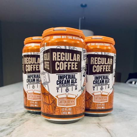 Beer Review – Carton Brewing Regular Coffee Imperial Cream Ale