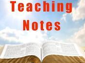 Teaching Notes: Mark's Gospel (Part