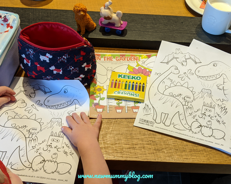 Tips for a peaceful meal out with kids