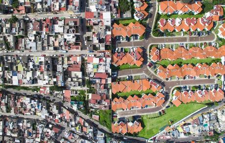 Image result for rich poor housing