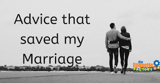 Advice That Saved my Marriage