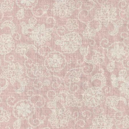 pretty pink curtains rose old