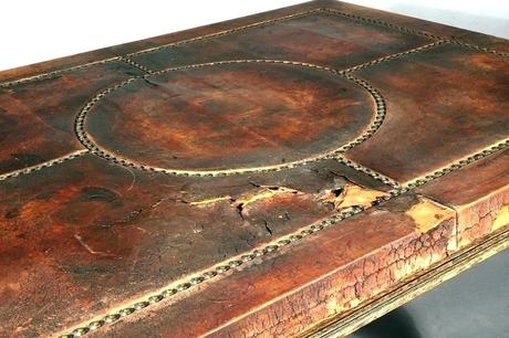leather for desktop writing pad desk top