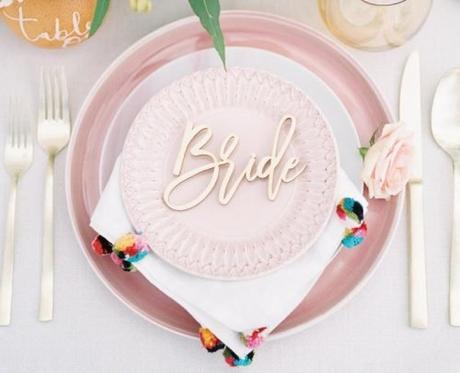 wedding place card ideas laser cut name