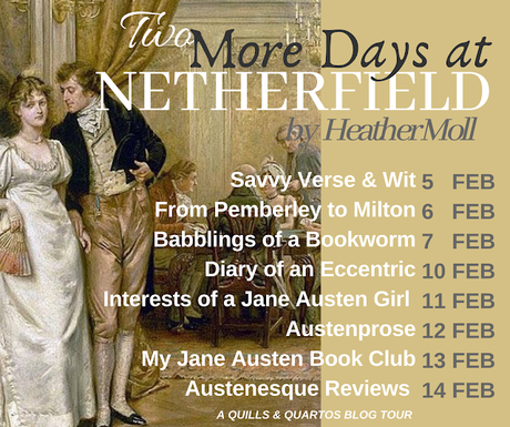 TWO MORE DAYS AT NETHERFIELD BLOG TOUR