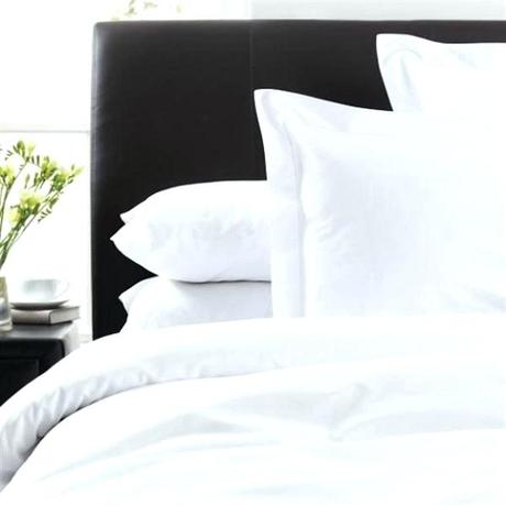 cotton bed linen brushed sets thread count white out of