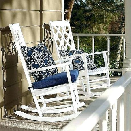 outside wicker rockers white outdoor rocking chairs