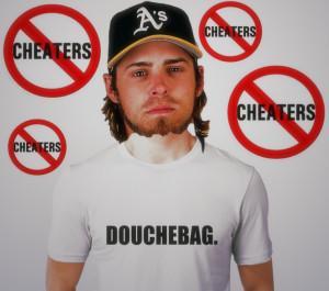 Josh Reddick is a douchebag