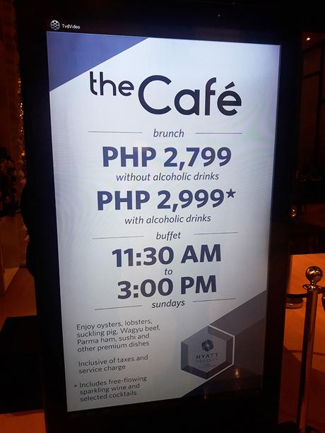 The Cafe by Hyatt rates