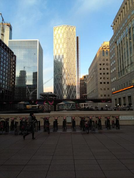 Canary Wharf – my work home for a year