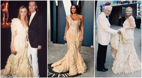 Kim Kardashian's Oscars Dress Has A Dallas Connection