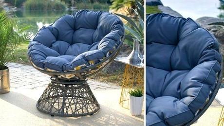 patio papasan chair gena outdoor for sale double frame cushion cushions