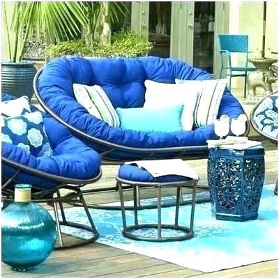 patio papasan chair gena outdoor double cushion
