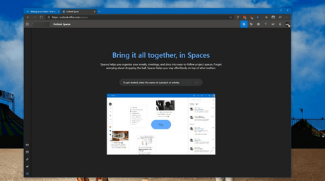 Outlook Spaces, Killer  Collaboration tool Microsoft for your Projects