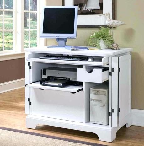 desk for printer corner with drawer