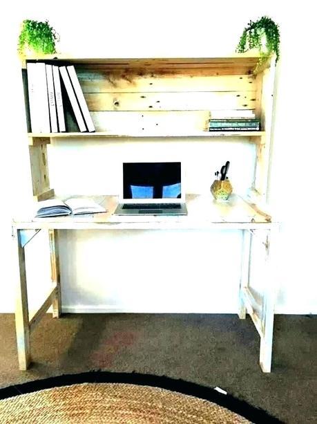 desk for printer white with drawer computer stand