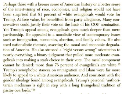 Notes on Gerardo Marti's American Blindspot: Race, Class, Religion, and the Trump Presidency