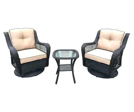 wicker outdoor rocker furniture glider