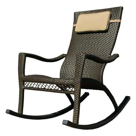 wicker outdoor rocker set rocking chairs