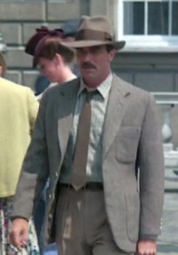 Lassiter: Tom Selleck's Tweed Jacket