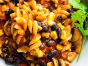 Black Bean Fajita Pasta