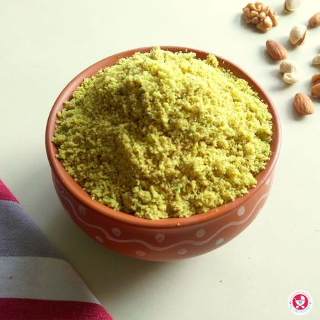 Homemade Mixed Nuts Powder (with Walnuts)