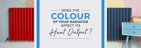 does the color of your radiator affect its heat output
