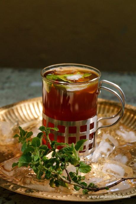 Tulasi Iced Tea   Iced Tea recipes